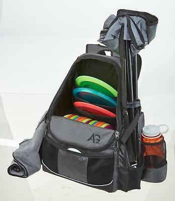 Disc Golf Bag Outdoor Deluxe Holds 21+ Sports NEW