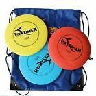 Kestrel Sports Plastic Disc Golf Pro Set Bundle of 3 Discs w