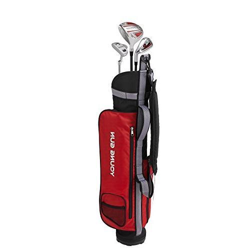 eagle red golf club set