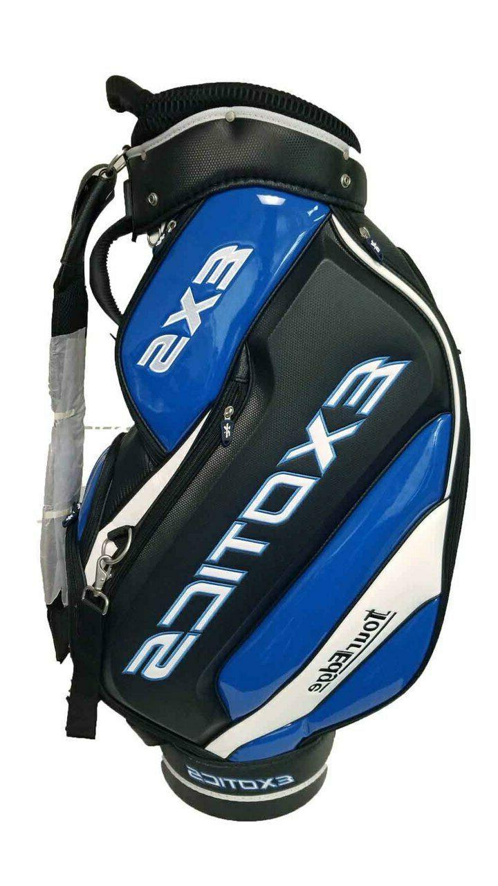 exotics exs golf 9 5 staff bag