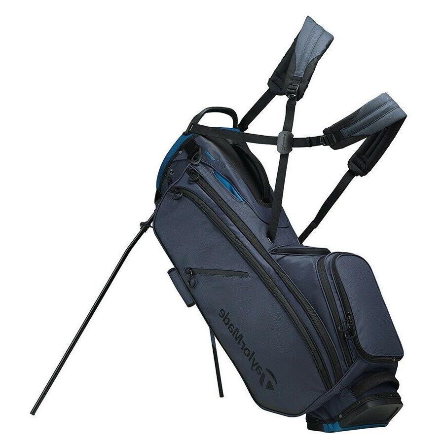 new flextech crossover stand golf bag titanium