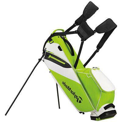 flextech lite golf stand bag green white