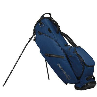 flextech single strap stand golf bag navy