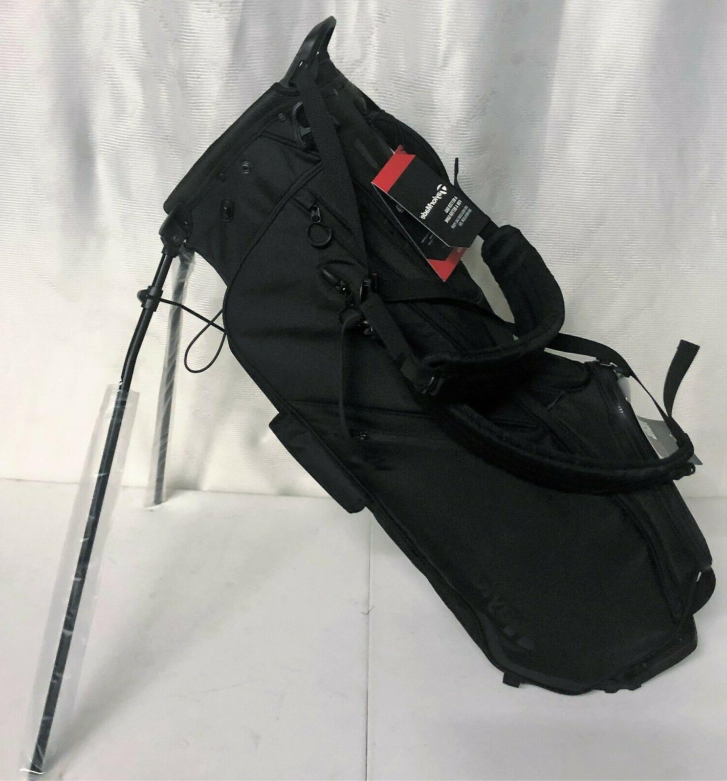 flextech stand bag black new with tags