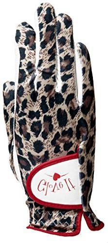 Glove It Women's Leopard Golf Glove