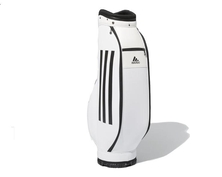 "Adidas Golf 2019 Caddie Bag CL6718 8.5"" 5Way 4.5lbs White"