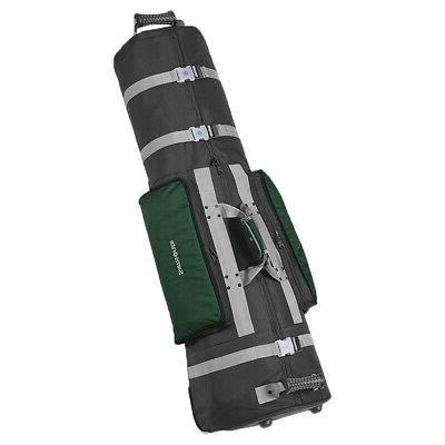 Samsonite 3 Travel w/ Cover, Shoe Bag & Hunter Green
