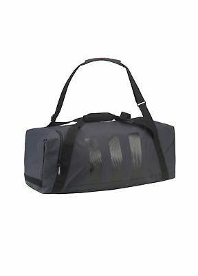 Adidas Golf 3 Stripes Duffle Bag Grey/Black One Size