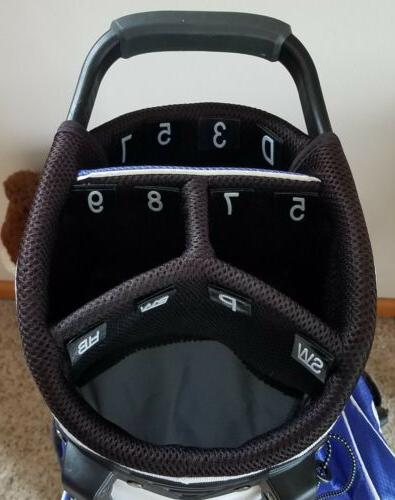 Golf accessories numbered bag