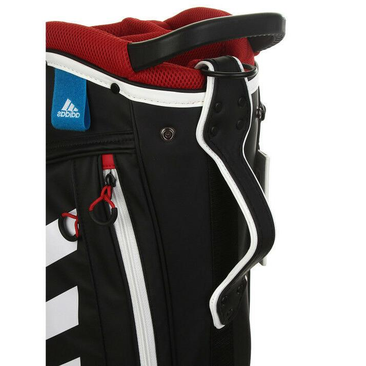adidas Golf Adicross Stand Caddie Bag Black Ways Driver NWT
