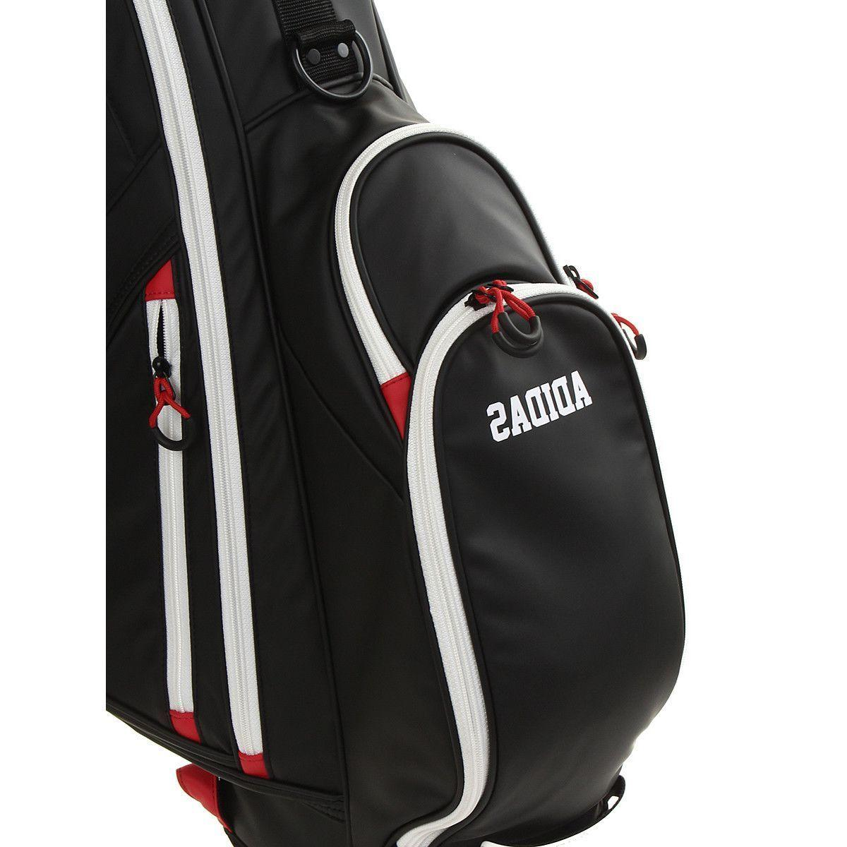adidas Golf Adicross Caddie Bag Black Ways NWT