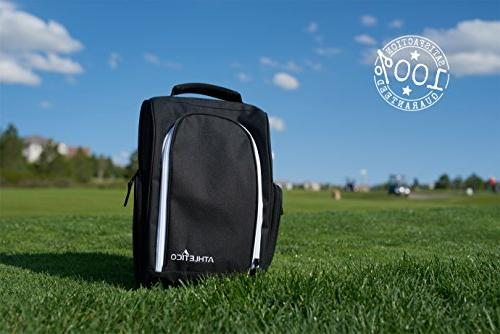 Athletico Golf Bags with Ventilation & Outside Pocket