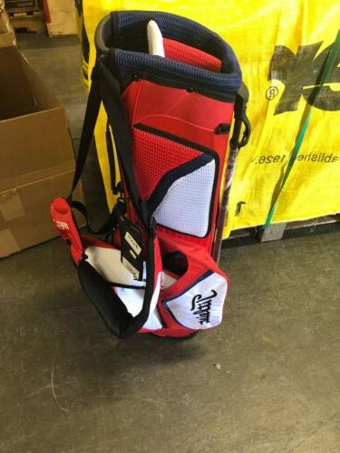 Titleist Golf Bag NWT Red White Ultra Lightweight 3 Hole