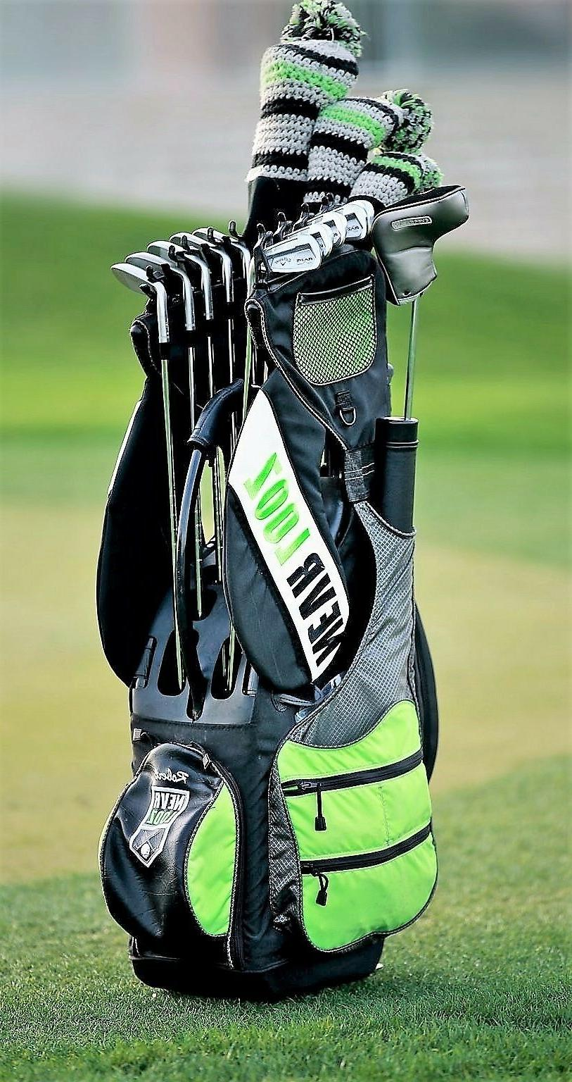 NEVR Golf your clubs organize your game