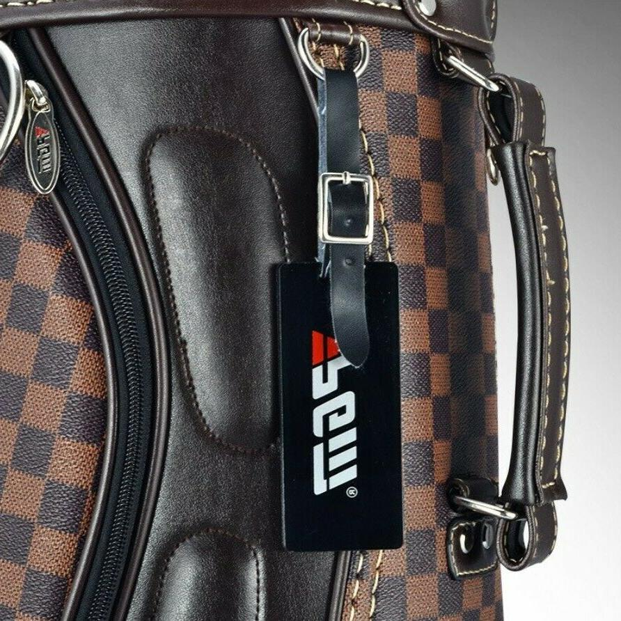 Golf bag plaid British equipment
