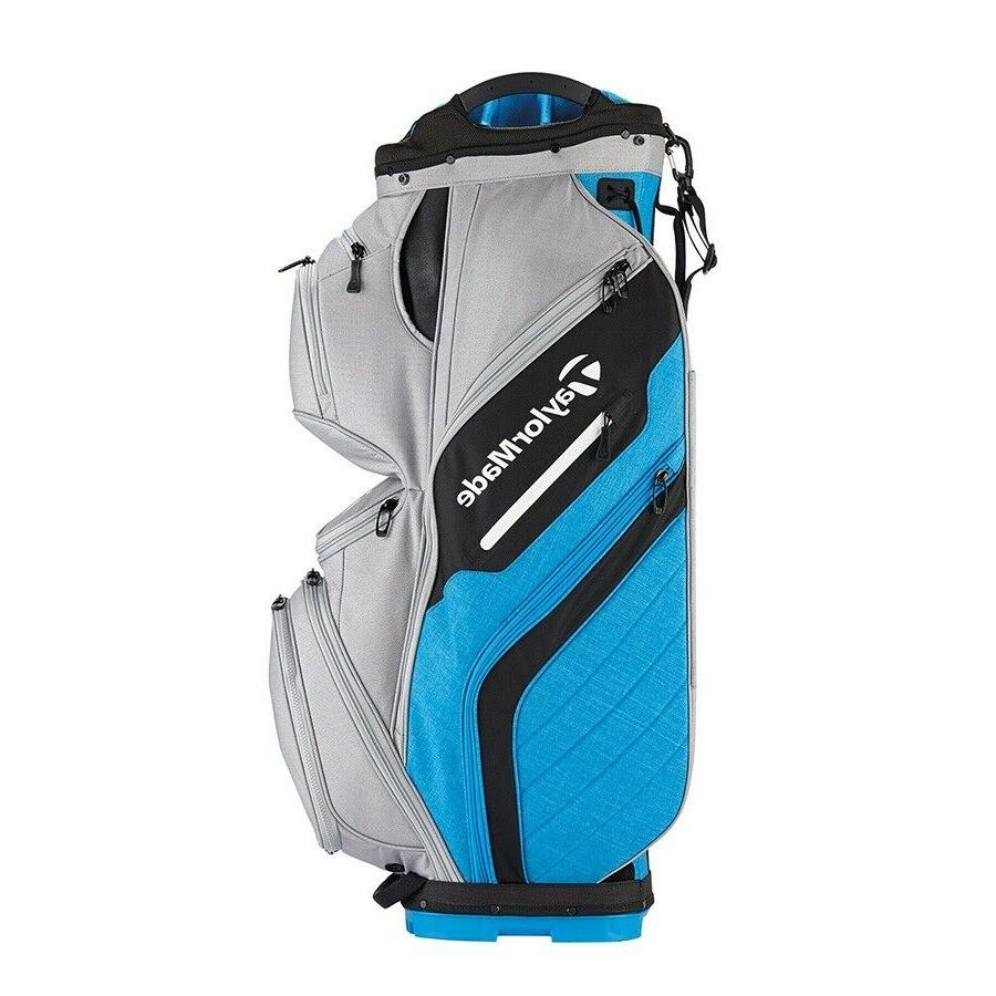 TaylorMade Golf Bag Cart Gray/Blue 2018