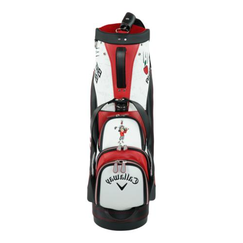 "Callaway Golf Staff Bag 9.5"" Red/White/Black"