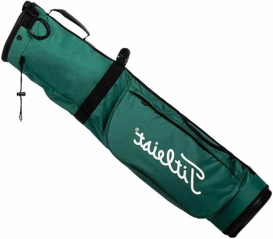 Titleist Golf Carry Sunday Bag, COLOR: Hunter with White, Mo