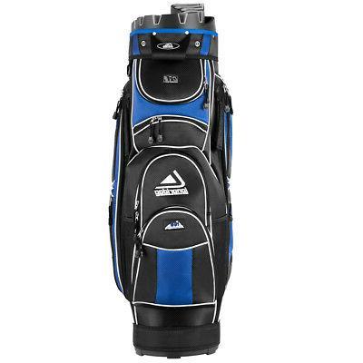 Golf Cart Bag 14 Way Organizer Divider Top 12 Pockets for Ex