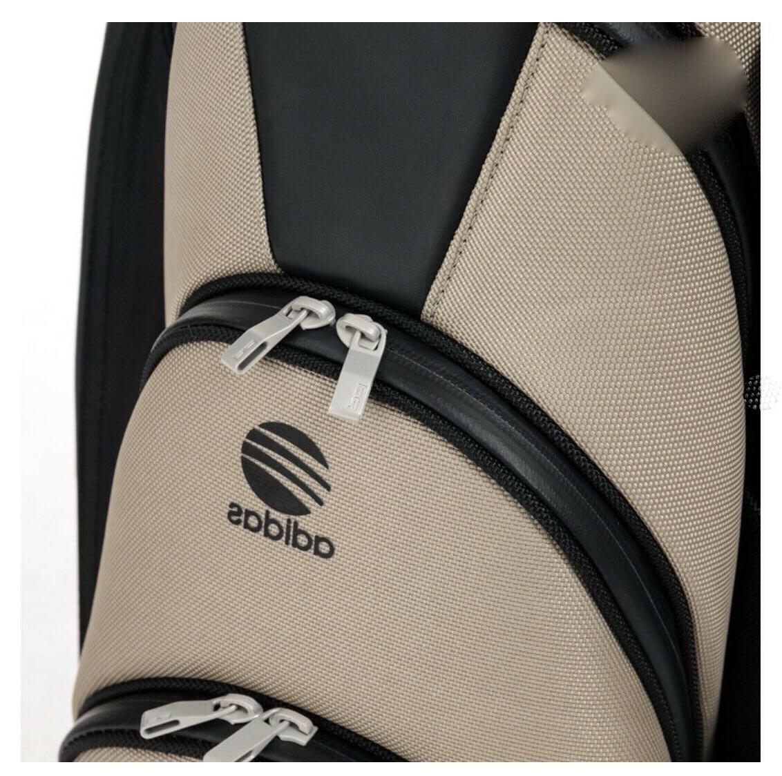 PORSCHE DESIGN ADIDAS GOLF CART BAG BLACK/SAND
