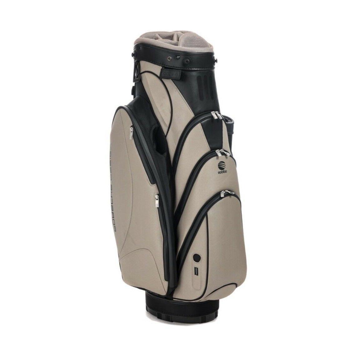 golf cart bag black sand