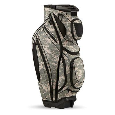 TAYLORMADE GOLF CATALINA CART BAG CAMOUFLAGE 15-WAY TOP 15 P