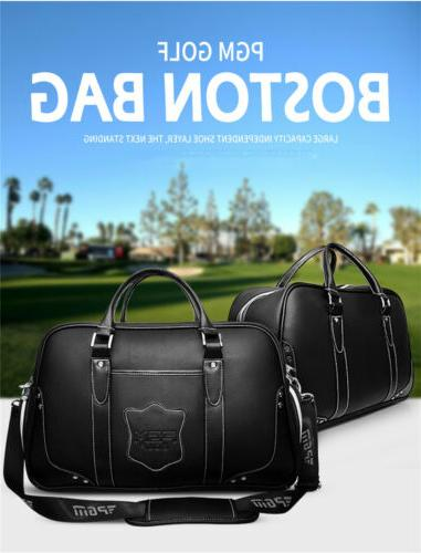 large capacity leather golf bags golf clothing