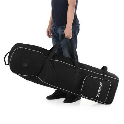 Golf Cover Heavy Carry Case with Wheels