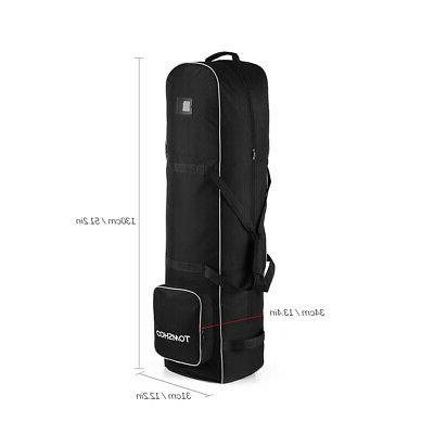 Golf Bag Travel Cover Protector Guard Carry with Wheels