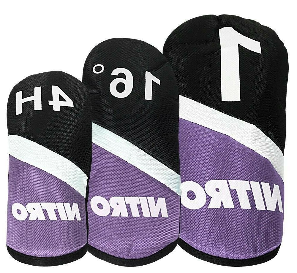 13 Ladies Golf Club Set Handed Nitro Clubs Bag NEW