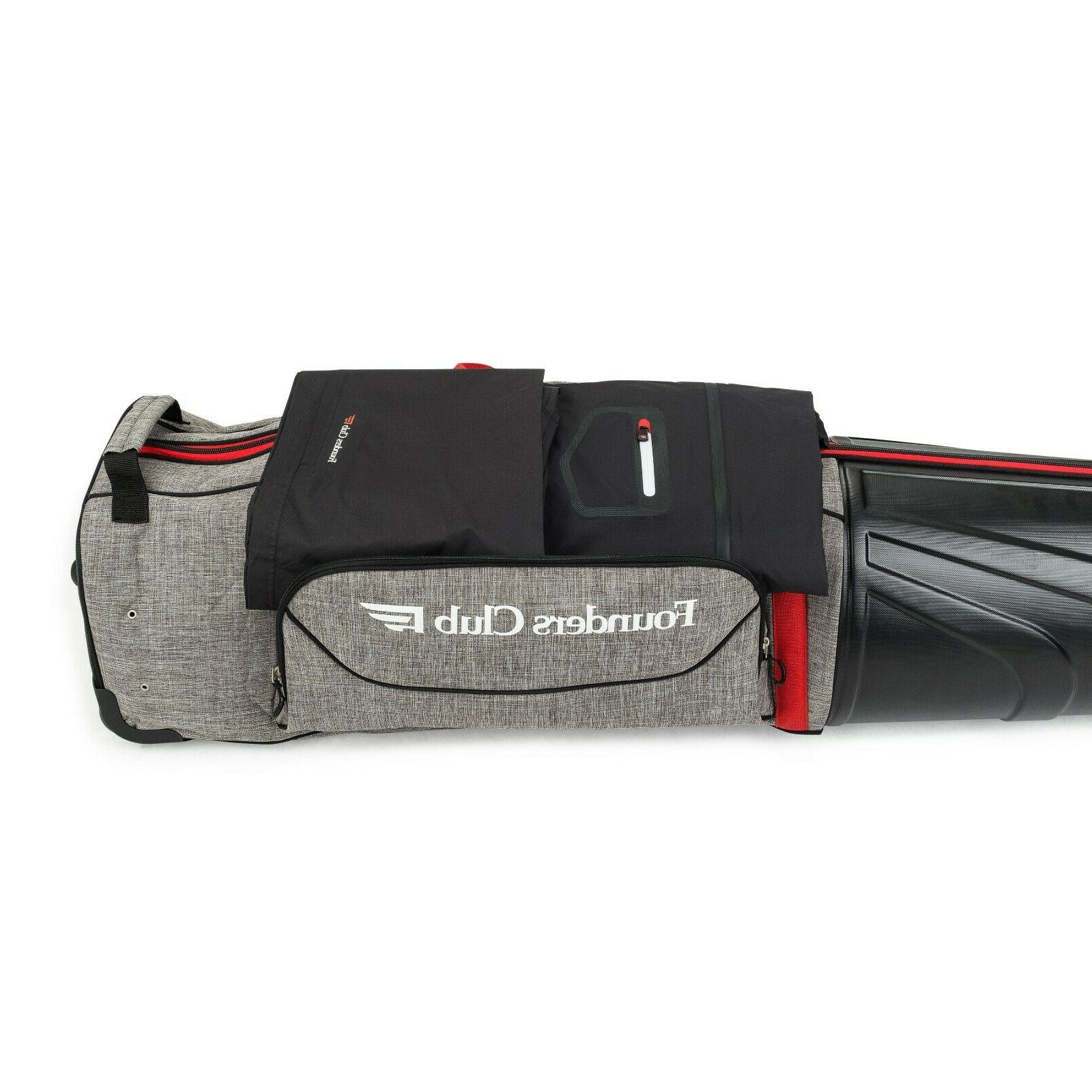Founders Golf Luggage with Hard Shell