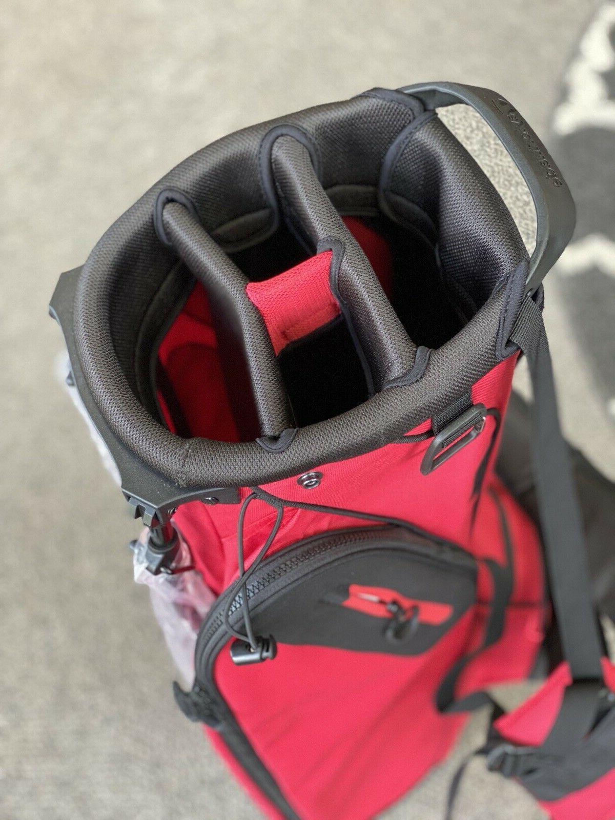 TaylorMade Custom Lite Stand Red/Black w/ Hood 76524