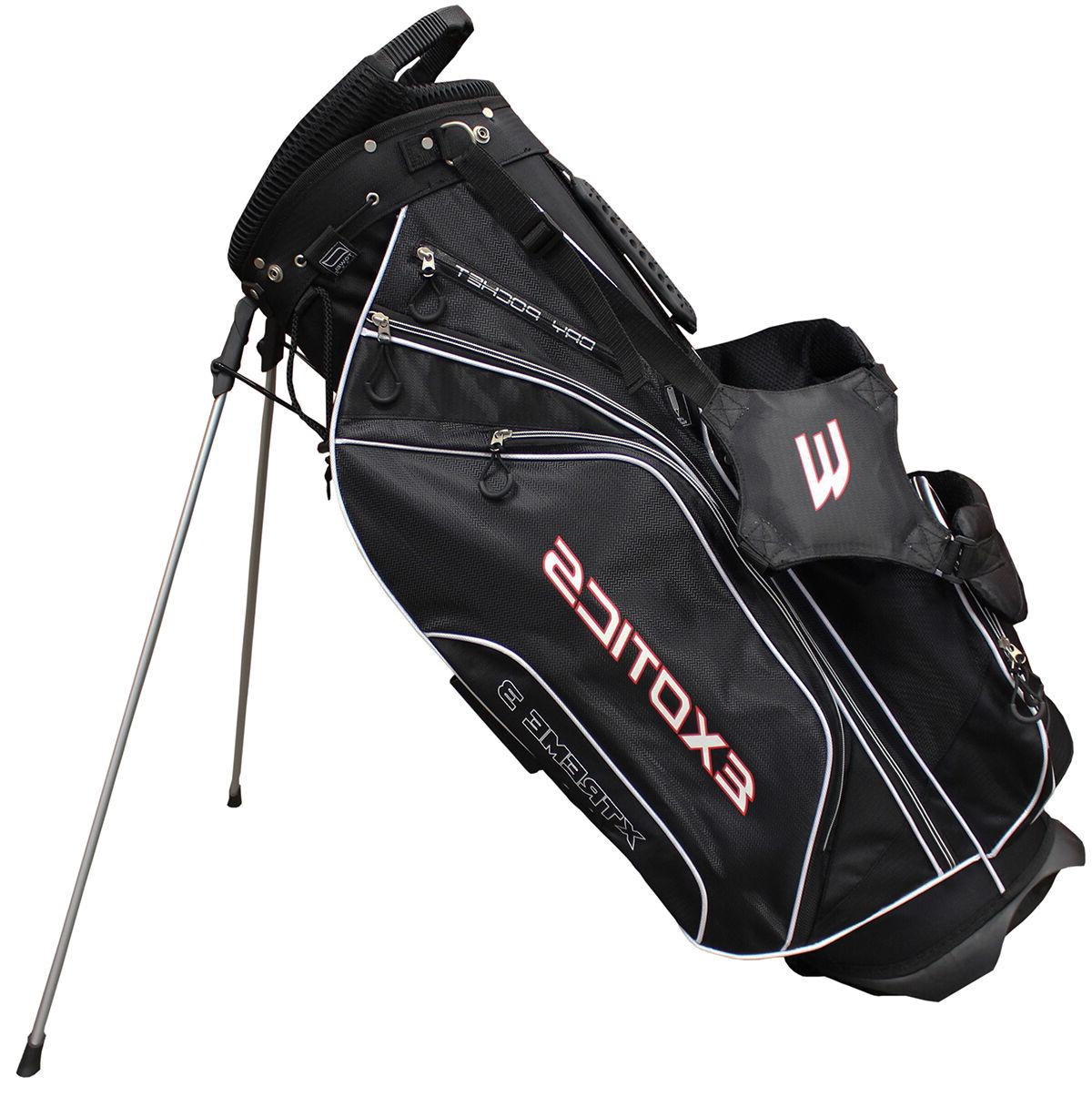 golf exotics extreme 3 stand bag multiple