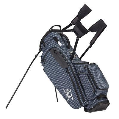 TAYLORMADE GOLF FLEXTECH LIFESTYLE STAND BAG HOUNDSTOOTH 5-W