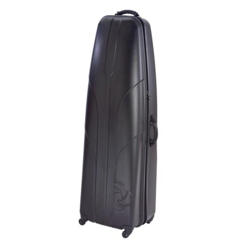 golf hard sided travel cover case black