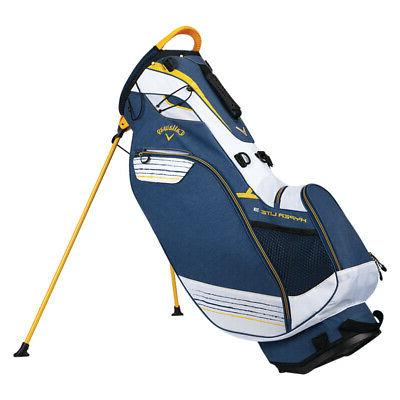 golf hyper lite 3 double strap stand