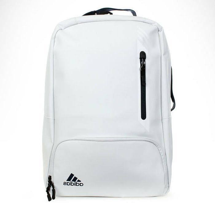 adidas Golf Matt PU Backpack Bag Rucksack Pouch White 2017 N