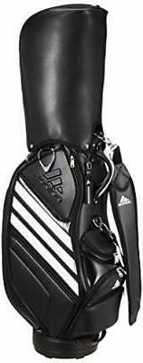 ADIDAS Golf Men's Caddy Bag TOUR 360 47 Inch 4.1kg XA215 Bla