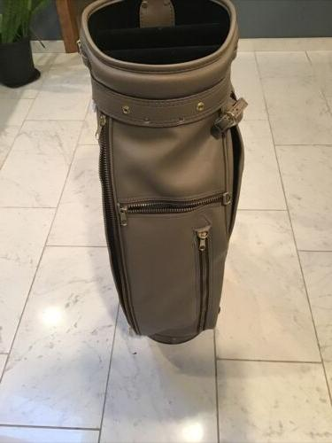 Wilson Golf Leather Cart Vintage Collectible