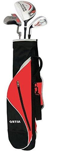 Nitro Golf Set Blaster Youth 6Piece Complete with Bag