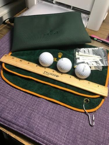 Rolex bag ;3 balls & towel;Accessories
