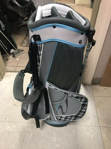 Adams Golf Ladies Golf Stand Light Blue/Grey