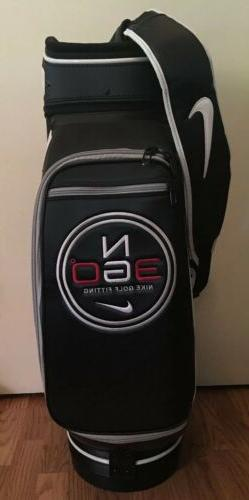 NIKE GOLF STAFF BAG N360 TOUR Brand New w/Accessories