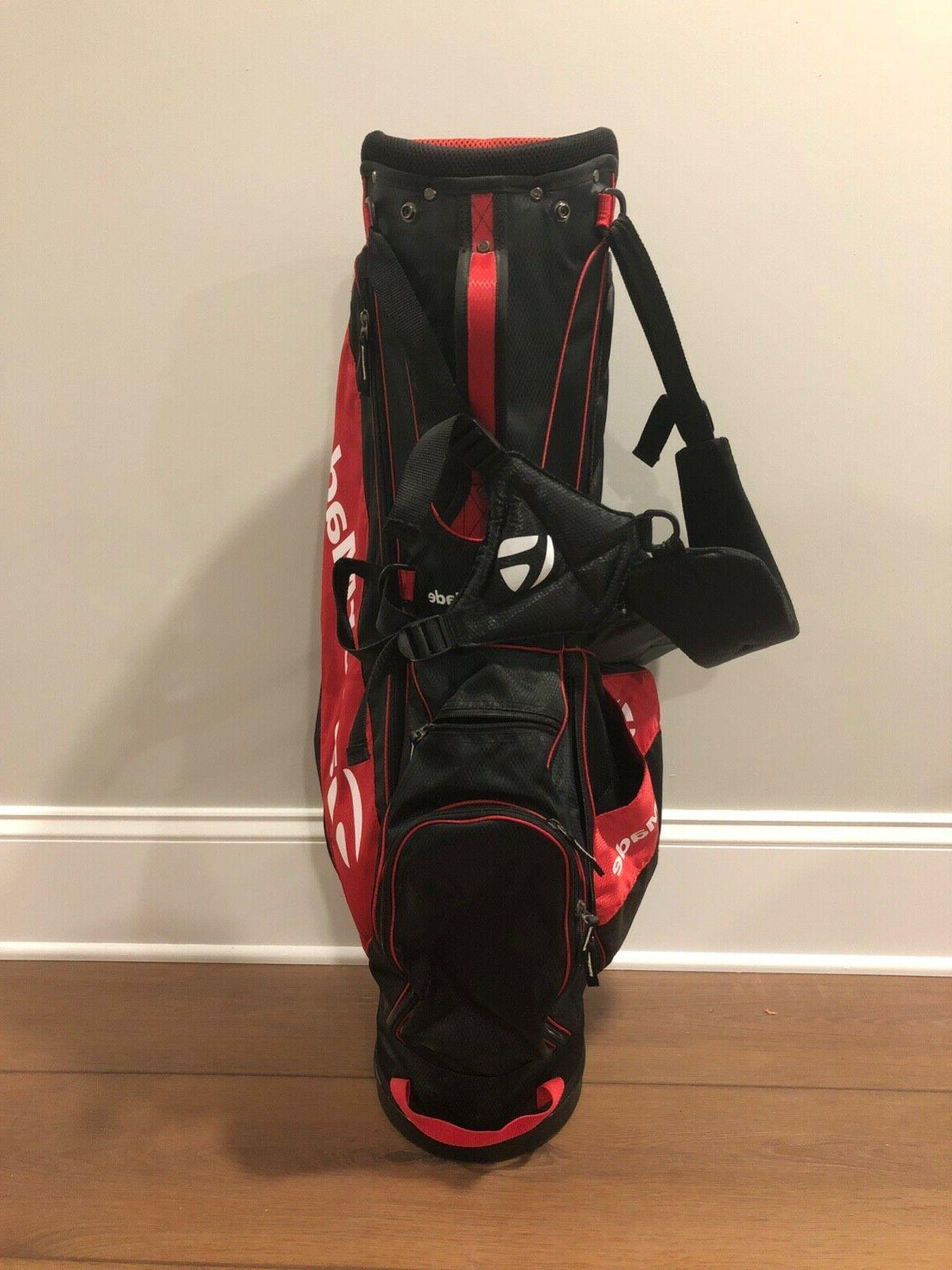 TaylorMade Golf Bag Red/Black