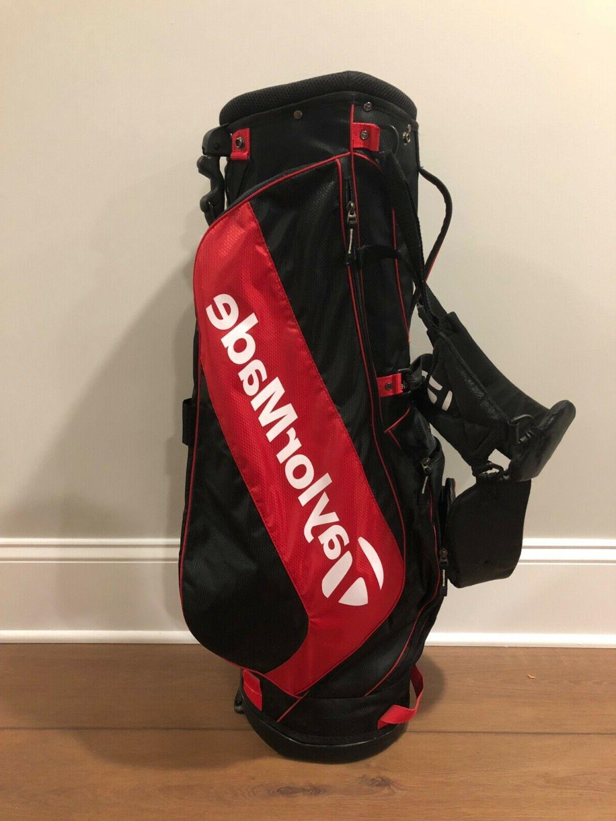 TaylorMade Golf Stand Red/Black