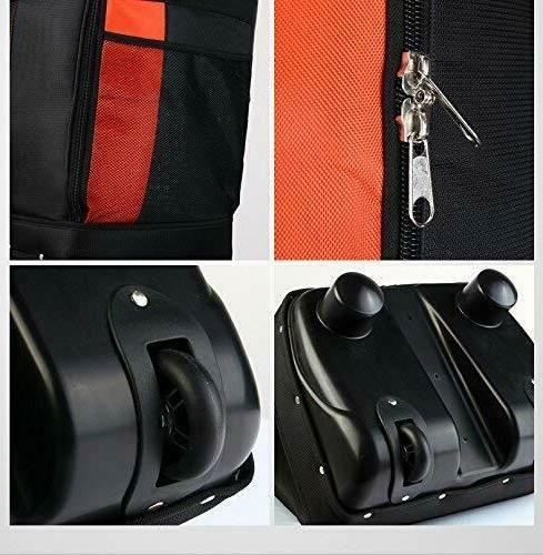 PGM Travel Bag Cover-Double Thicker Nylon Wheel Orange