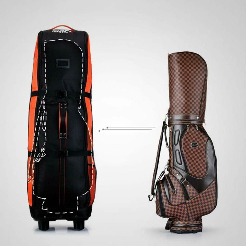 PGM Golf Cover-Double Thicker Nylon Wheel Base