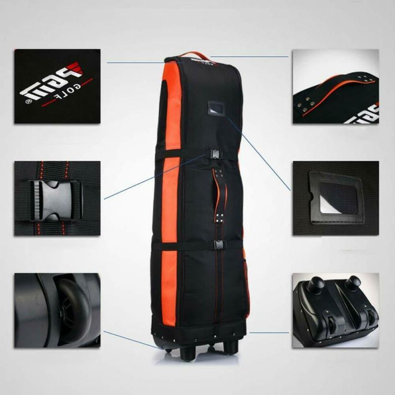 PGM Travel Cover-Double Deck Waterproof Nylon Wheel Base