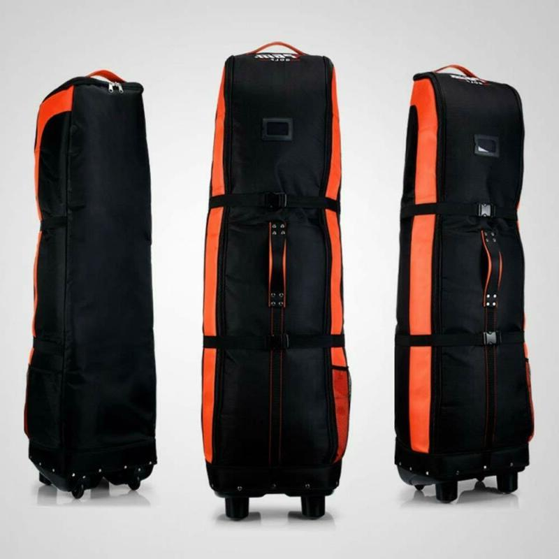 golf travel bag cover double deck thicker