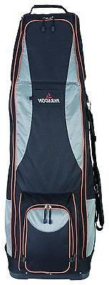 Wheels/Golf Travel Black Bag